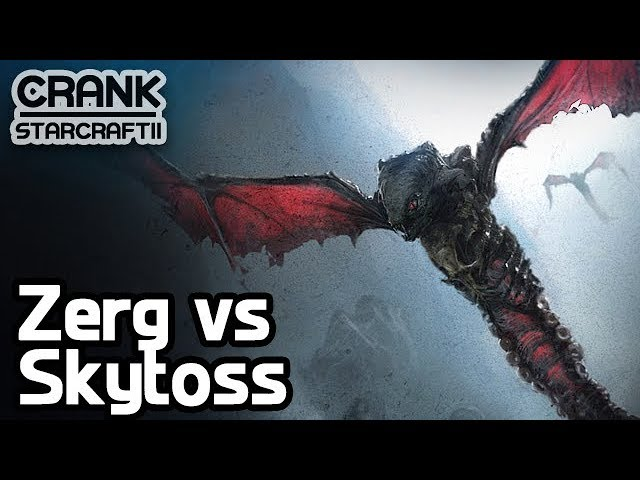 Muta/Zergling vs Skytoss - StarCraft 2