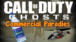 Commercial Parodies CoD Ghosts (Air Hogs, Rescue Dogs, Dasani Water)