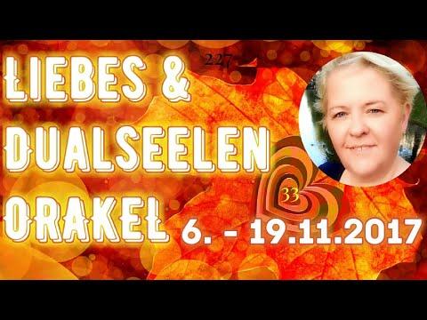 Liebes & Dualseelen ORAKEL 💖 6. - 19.11.2017 | Beraterin Claudia Luka