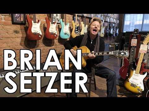 ECG Holidays 2017 with Brian Setzer and a Happy New Year!!!