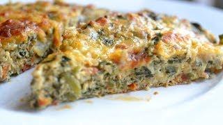 Callaloo Zucchini Frittata