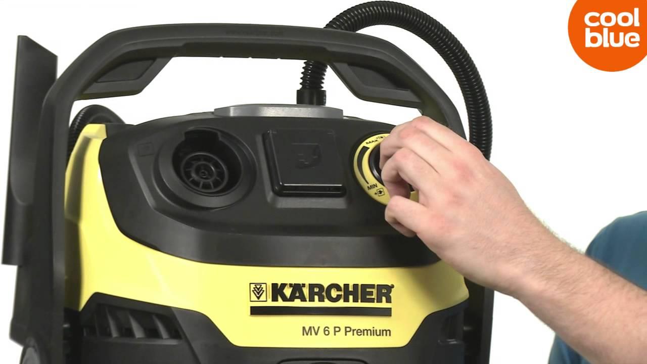 karcher mv6 premium multifunctionele stofzuiger productvideo nl be youtube. Black Bedroom Furniture Sets. Home Design Ideas