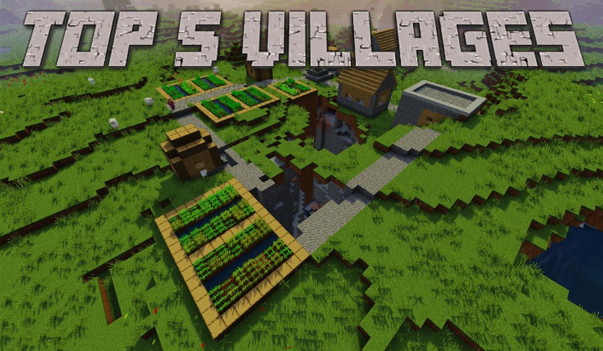 Top 1111 Minecraft Village Seeds 11.11 - Minecraft Seeds