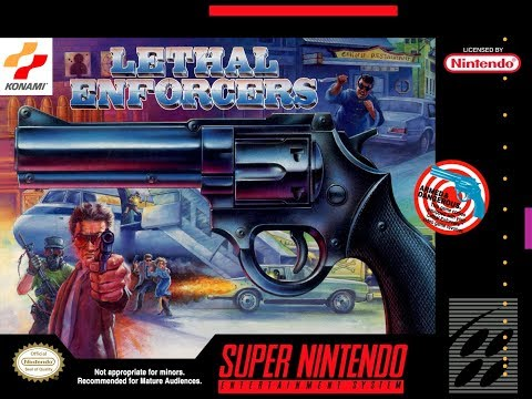 Is Lethal Enforcers [SNES] Worth Playing Today? - SNESdrunk