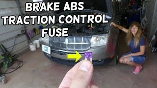LINCOLN MKX BRAKE FUSE TRACTION CONTROL FUSE ABS FUSE