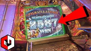 HE WON THE JAPANESE JACKPOT! Grand Cross Arcade Coin Pusher BIG WIN in JAPAN!