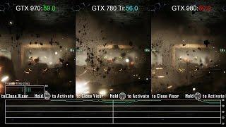 Crysis 3 - GTX 970 vs GTX 980/ GTX 780 Ti Gameplay Frame-Rate Tests