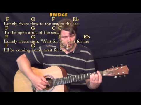 Unchained Melody - Fingerstyle Guitar Cover Lesson In C With Chords/Lyrics