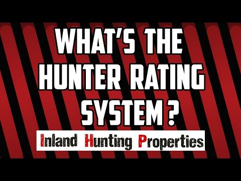IHP FAQS | What's The Hunter Rating System? | Inland Hunting Properties Australia