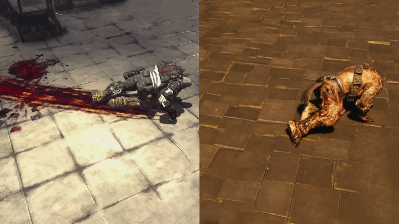 When the game from 2009 has better tech than the one from 2019