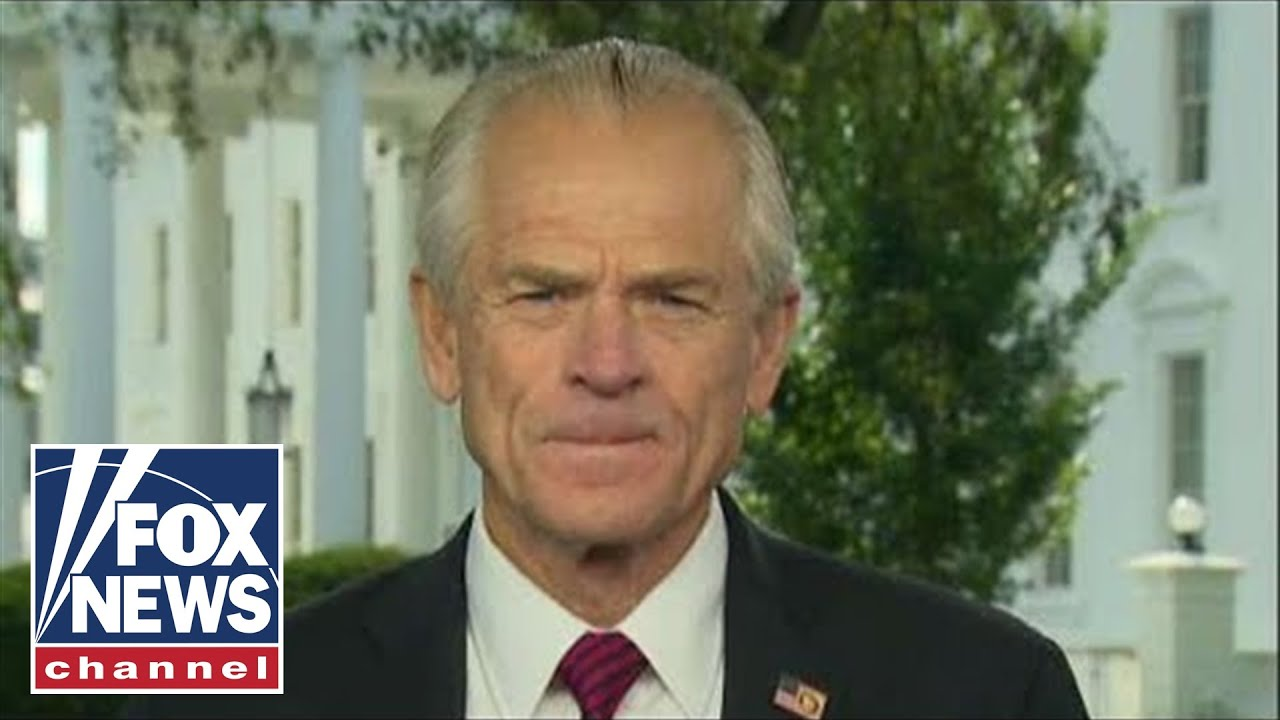 Peter Navarro downplays reports of heated exchange with Dr. Fauci