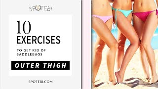 Video The Best OUTER THIGH WORKOUT for Getting Rid of SADDLEBAGS! download MP3, 3GP, MP4, WEBM, AVI, FLV Agustus 2018