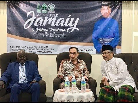 Anwar Ibrahim: Pidato Perdana Di Kajang