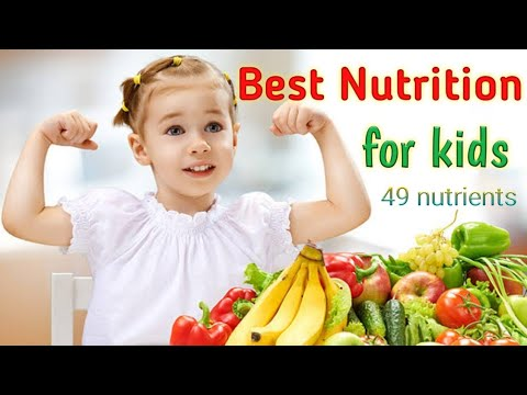 Best nutrition for kids with 49 nutrients   Best food supplements for kids   Nutricharge kids.