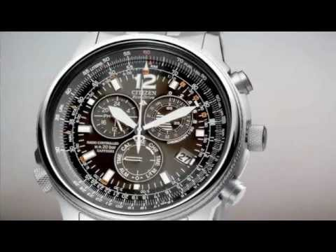 how to setup citizen blue angle watch h800