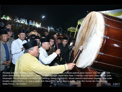 Festival Takbir Akbar Idul Adha Klambir Lima Kebun MERIAH