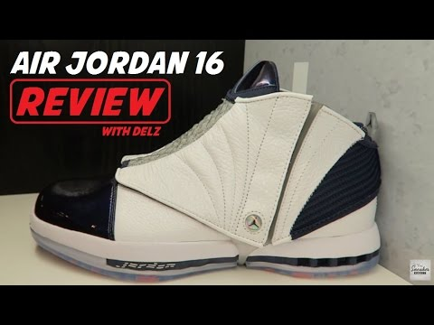 AIR JORDAN 16 MIDNIGHT NAVY RETRO 2016 SNEAKER REVIEW