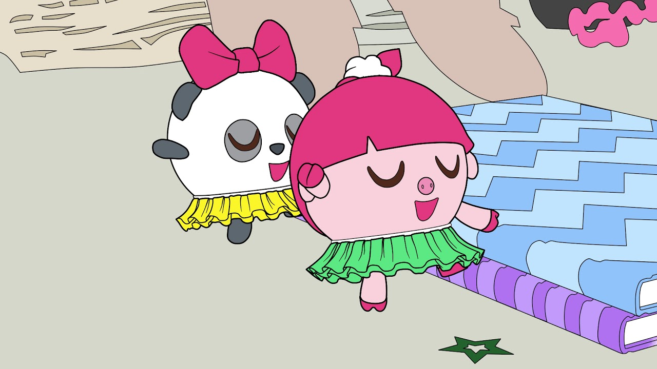 Малышарики - Раскраска для детей -  Балерины