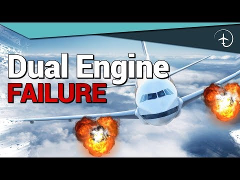 Aircraft loses BOTH ENGINES after takeoff! Cockpit video!