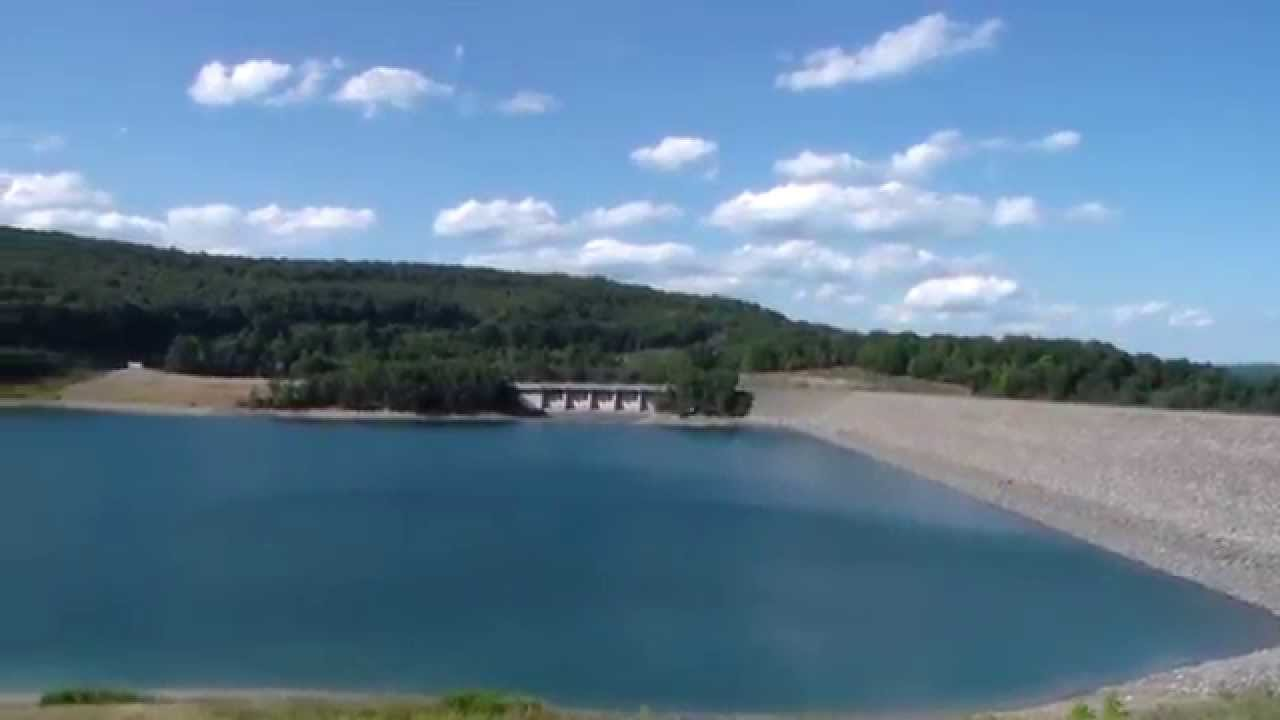 Jennings Randolph Lake Rolled Earth And Rock Filled Federal Dam