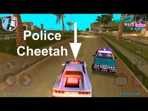 Where To Find The Police Cheetah & Why You Want One In GTA Vice City