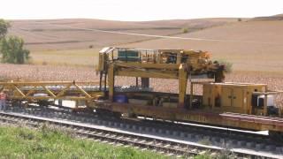 Railroad Construction Near Kennard, Nebraska - Recorded Sept 30, 2011