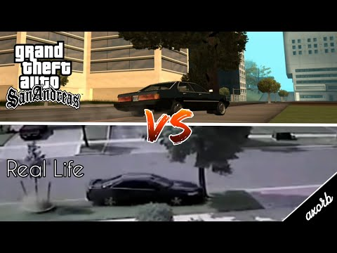 GTA San Andreas vs Real Life