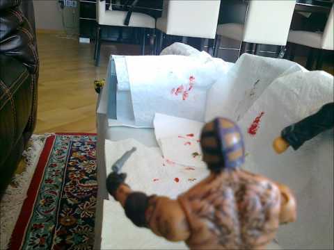 WWE Mattel Anmation-Rey Mysterio Kills 3 Zombies