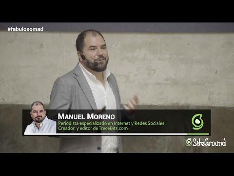 """Manuel Moreno: """"La importancia del buen contenido"""" - Fabuloso Madrid: A Marketing Event"""