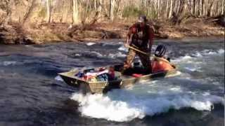 How To Surf A Flat-bottom Boat