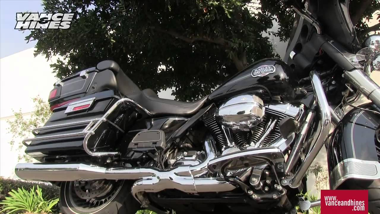 Vance & Hines 5-1/2″ Monster Oval Slip-On Mufflers and Power Duals Headers  | Available at J&P Cycles