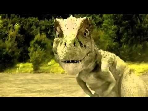 Speckles the Tarbosaurus-Dinosaur stampede (With music from The lion king)