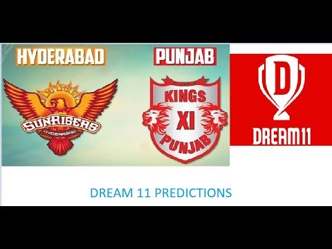 SRH vs KXIP | IPL 2018 | Dream 11 tips | best team