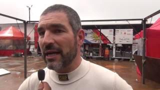 Rodrigo Zeballos - Entrevista final (em espanhol) -  Rally de Erechim 2017