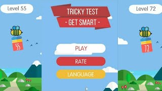 tricky test get smart solution level 55 to 72  best trivia games  apps game