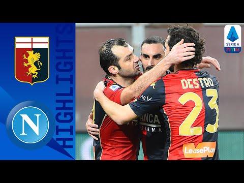 Genoa 2-1 Napoli   La doppietta di Pandev costringe gli azzurri alla settima sconfitta   Serie A TIM