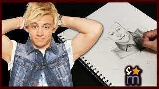 Drawing Ross Lynch (Speed Drawing) - Shine On Sketches