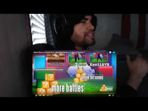 Mario Bros Vs Wright Bros. Epic Rap Battles Of History Season 2 Part 2