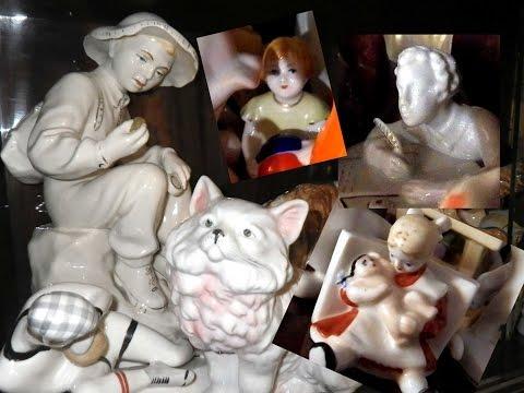 Фарфоровые статуэтки  Porcelain figurines.