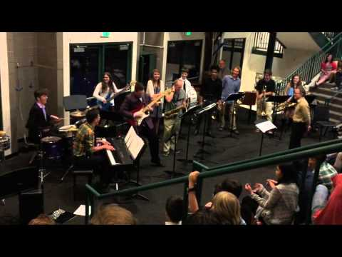 Rowland Hall Jazz Band April 2015