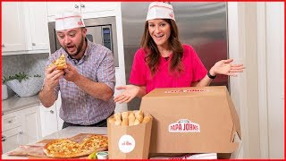 ONE-OF-A-KIND PIZZA UNBOXING!! 🍕