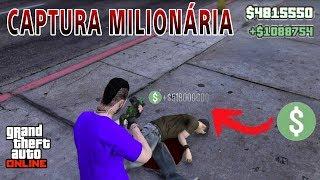 Captura MILIONÁRIA no GTA 5 ONLINE DINHEIRO + RP (PS3,PS4X360,X1,PC)