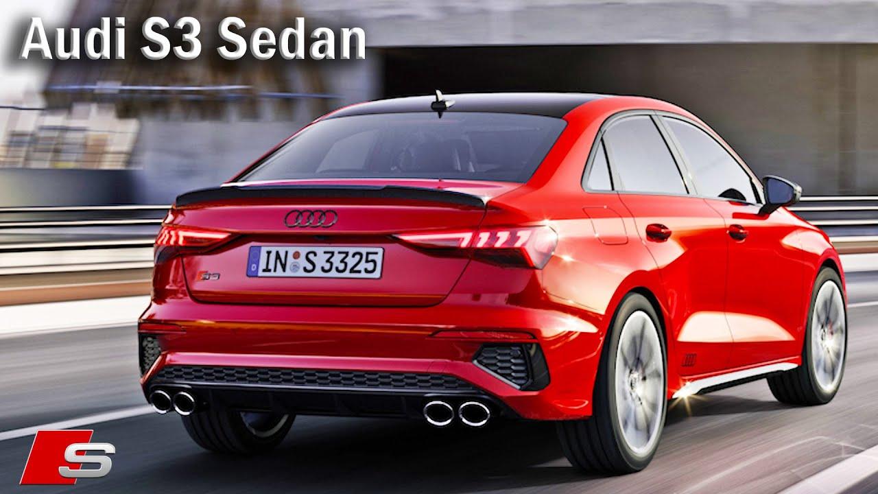 2021 Audi S3 sedan limousine Interior, Exterior - YouTube