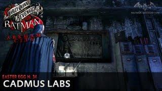 Batman: Arkham City - Easter Egg #34 - Cadmus Labs (Harley Quinn's Revenge)