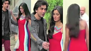 Katrina Kaif And Ranbir Kapoor AWKWARD Moment At Jagga Jasoos Promotion!