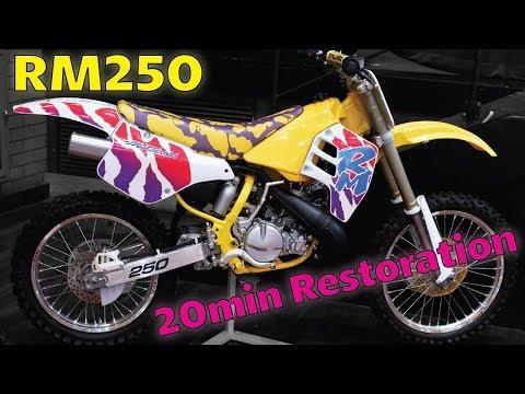 Suzuki RM250 Restored