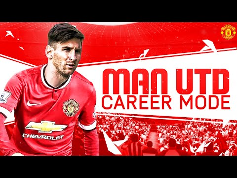FIFA 16 Manchester United Career Mode: Messi to Old Trafford? SE1 EP1