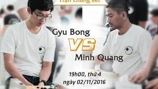 Trận Chung kết Giải Cờ vây giao lưu Việt Nam - Hàn Quốc lần thứ 3  tại Hà Nội (nhóm kỳ thủ mạnh)