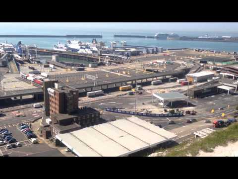 The logistical operation that is Dover Docks !