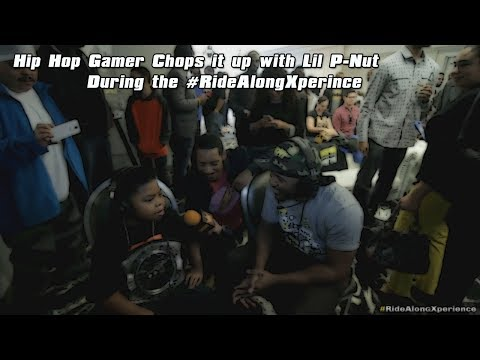 Kevin Hart talking with Hip-Hop Gamer and Lil P-nut #ridealongxperience